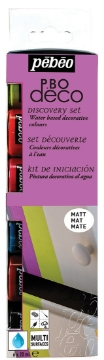 Picture of Pebeo P.BO deco Discovery Collection Set 6x20ml
