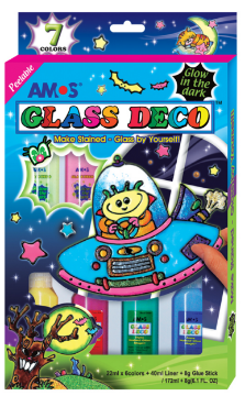Picture of Amos Glass Deco (Glow In The Dark Set)