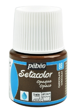 Picture of PEBEO SETACOLOUR OPAQUE 45ML CHOCOLATE(88)