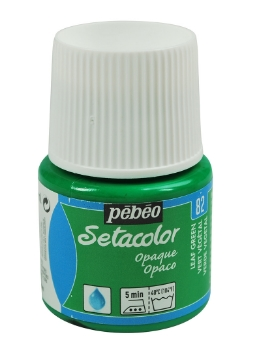 Picture of PEBEO SETACOLOUR OPAQUE 45ML LEAF GREEN(82)