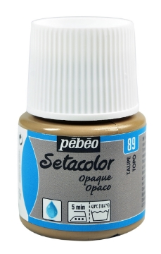 Picture of PEBEO SETACOLOUR OPAQUE 45ML TAUPE(89)
