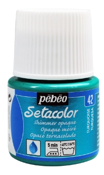 Picture of PEBEO SETACOLOUR OPAQUE SHIMER 45ML TURQUOISE(42)
