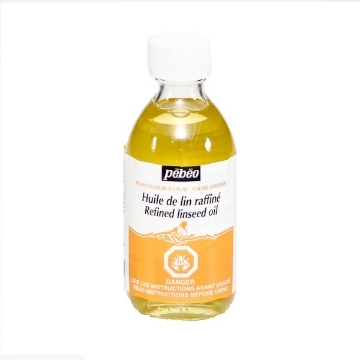 Picture of PEBEO REFINED LINSEED OIL 245ML for OIl Colours