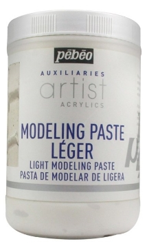 Picture of Pebeo ARTIST ACRYLIC LIGHT MODELING PASTE 1000ML
