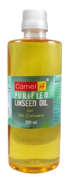 Picture of Camlin Purified Linseed Oil 500ml