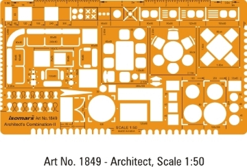 Picture of Isomars Architect Combination-II Template 1849 (1:50)
