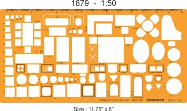 Picture of Isomars Architect Furniture Template 1879 (1:50)