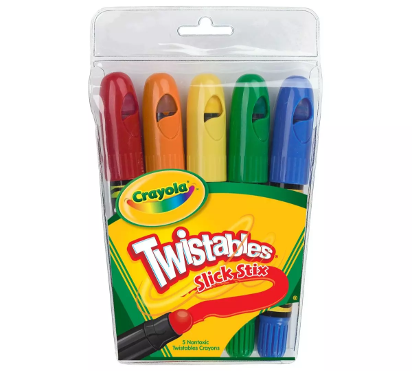 Picture of Crayola Twistables Slick Stix Crayons 5 Colours