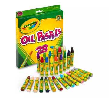 Picture of Crayola Oil Pastels 28 Colours
