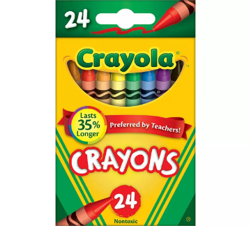 Picture of Crayola Crayons 24 Colours