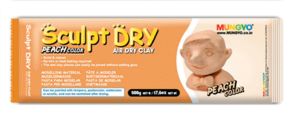 Picture of Mungyo Sculpt Air Dry Clay Peach - 500g