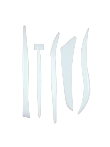 Picture of Clay Modelling Plastic Tool Set 5