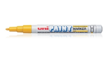 Picture of Uni Paint Marker 0.8mm-1.2mm - Yellow