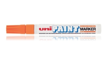 Picture of Uni Paint Marker 2.2mm-2.8mm - Orange