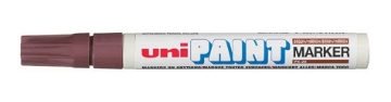 Picture of Uni Paint Marker 2.2mm-2.8mm - Brown