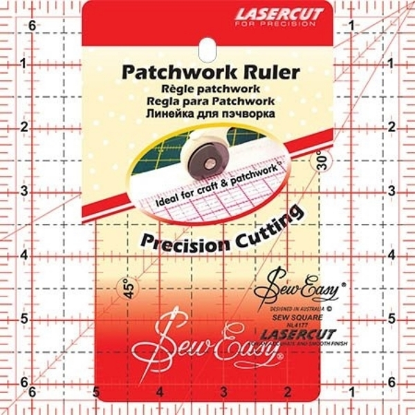 Picture of Sew Easy Patchwork Ruler 6.5 x 6.5 inches