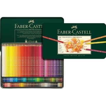Picture of Faber Castell Polychromos Artist Colour Pencil Set of 120