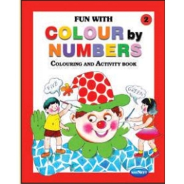 Picture of Vikas Fun With Colour By Numbers Book 2