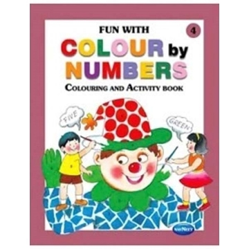 Picture of Vikas Fun With Colour By Numbers Book 4