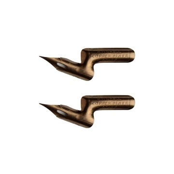 Picture of William Mitchell Calligraphy Copper Plate (Set of 2 Nibs)