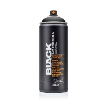 Picture of Montana Black 400ml Spray Paint Black - BLK9001