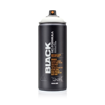Picture of Montana Black 400ml Spray Paint White - BLK9105