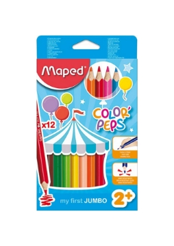 Picture of Maped Color'Peps Jumbo Colour Pencils Set of 12