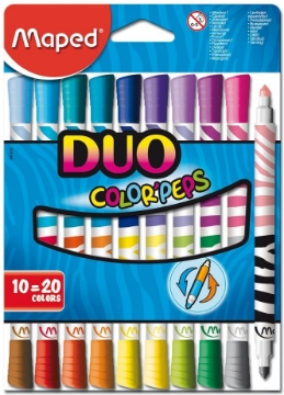 Picture of Maped Color'Peps - Duo Pen Set of 10 (20 Colours)