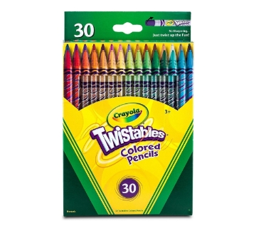 Picture of Crayola Twistable Colored Pencils Set of 30