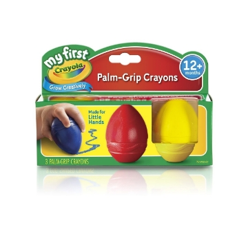 Picture of Crayola Palm-Grip Crayons Set of 3