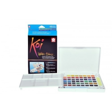 Picture of Sakura Koi Watercolour Cakes Set of 48 (Field Kit)