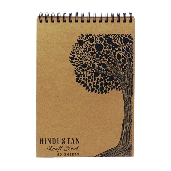 Picture of Hindustan Kraft Book A4 - Tree (50 Sheets)
