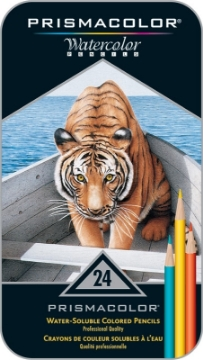 Picture of Prismacolor Premier Water - Soluble Colored Pencils Set of 24