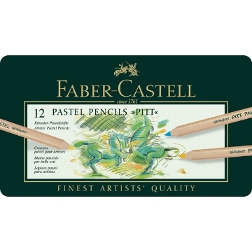 Picture of Faber Castell Pitt Pastel Pencils Set of 12