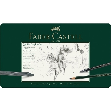 Picture of Faber Castell Pitt Graphite Set of 26