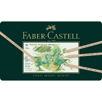 Picture of Faber Castell Pastel Pencil Set of 36
