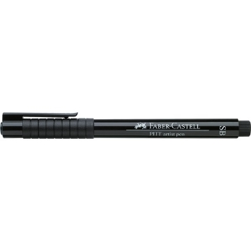 Picture of Faber Castel Pitt Artist Pen Soft Brush (Black)
