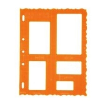 Picture of 4853 Fiskars Plastic Shape Template Rectangle
