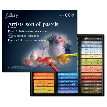 Picture of Mungyo Gallery Artist Soft OIl Pastels Set of 48 (Assorted Colours)