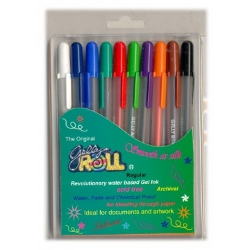 Picture of SAKURA GELLY ROLL PENS REGULAR SET OF 10