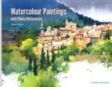 Picture of Watercolour Paintings with Photo References By Milind Mulick