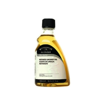 Picture of WINSOR & NEWTON Refined Linseed Oil 500ml