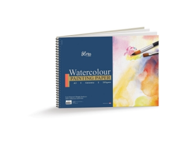 Picture of Campap Arto Watercolour Painting Paper A3 12 Sheets 300gsm (Spiral)