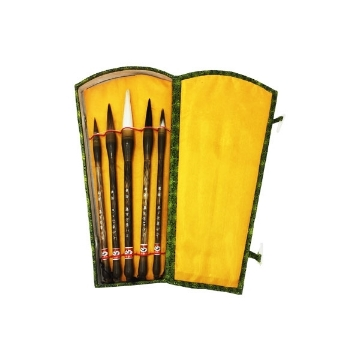 Picture of HTC Chinese Brush Set of 5