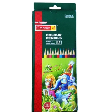 Picture of Camlin Colour Pencils Set 12 shades