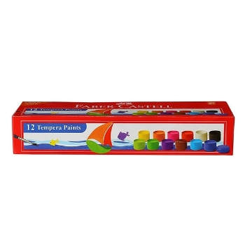 Picture of Faber Castell Tempera Paints Set of 12