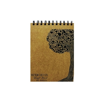 Picture of Hindustan Kraft Book A5 - Tree (50 Sheets)