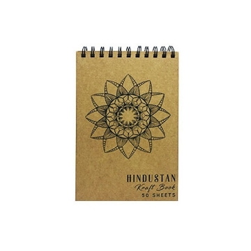 Picture of Hindustan Kraft Book A5 - Mandala (50 Sheets)