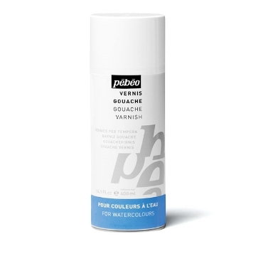 Pebeo Gouache Varnish 400ml spray