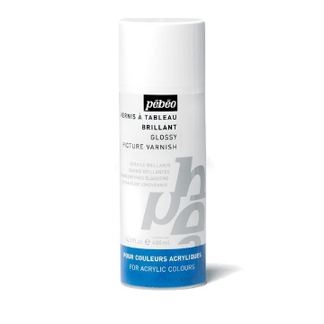 Picture of Pebeo ACRYLIC GLOSS PICTURE VARNISH Spray 400ML